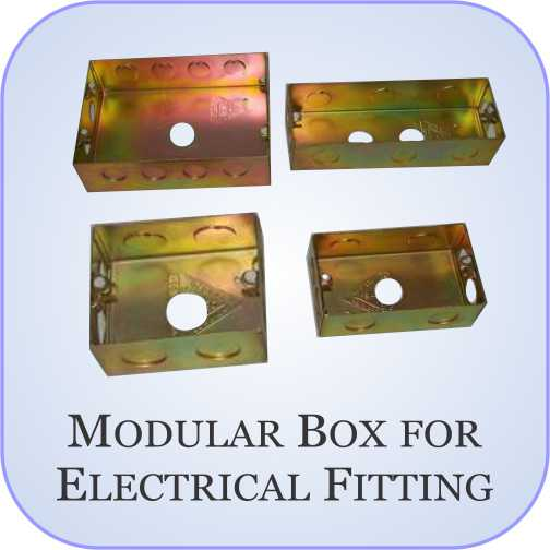 Modular Box for Electrical Fitting