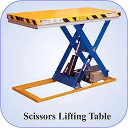 Scissors Lifting Table